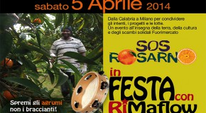 SOS Rosarno in festa con RiMaflow