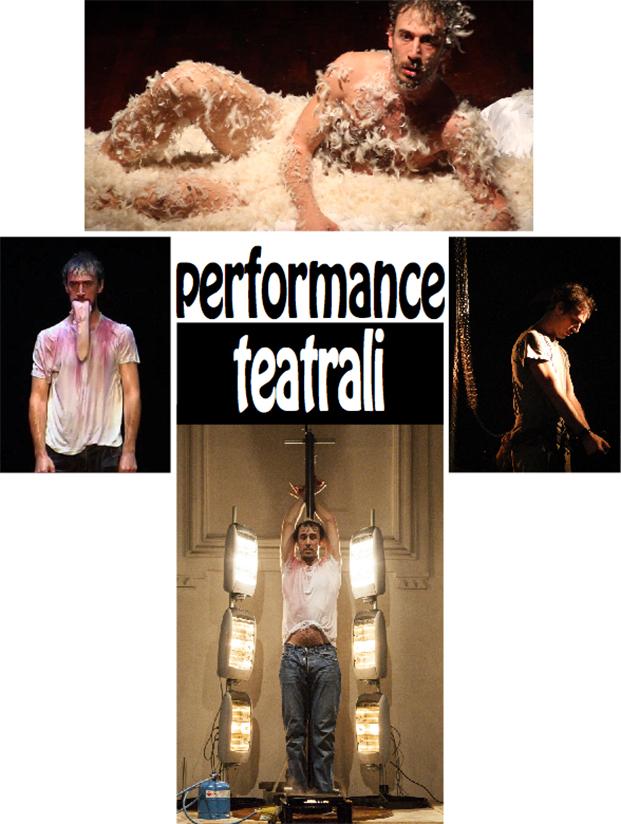 performance teatrali