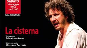 """Teatro: """"La Cisterna"""". A seguire cover rock band"""