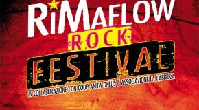 sabato 21 giugno RIMAFLOW: rock e salamelle