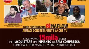 SOTTOSCRIVI PER RIMAFLOW  ! ! ! VOGLIAMO PASSARE ALLA PRODUZIONE, ORA POSSIAMO ! ! !