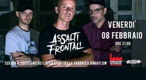 "ASSALTI FRONTALI PER ""RIMAFLOW VIVRA'! MASSIMO LIBERO!"""