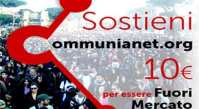 1° anno di Communianet.org. 10€ per rilanciare