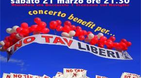 SAbato 21 marzo concerto solidale NO TAV