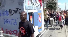 videosintesi della fanfara solidale di sabato 2 maggio