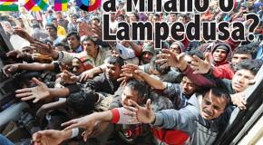 Expo a Milano o a Lampedusa?