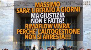 Massimo sarà liberato ma giustizia non è fatta!