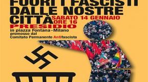 No alla manifestazione di Forza Nuova a Milano