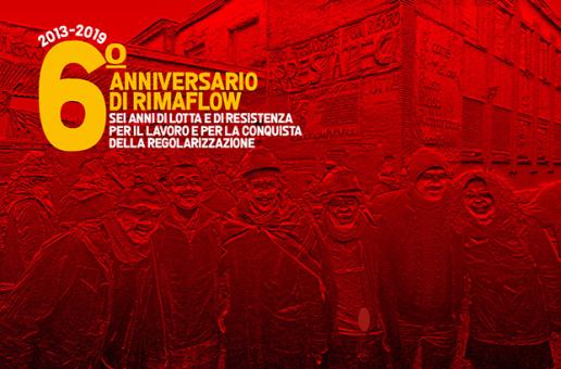 IL 3 MARZO RIMAFLOW FESTEGGIA IL SUO VI ANNIVERSARIO INSIEME A MASSIMO FINALMENTE LIBERO!