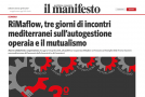 """L'articolo del """"manifesto"""" sul 3° incontro euromediterraneo dei lavoratori e delle lavoratrici"""