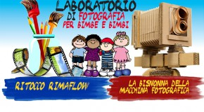 sabato 28 marzo laboratori di fotografia per bambini