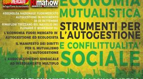 RiMAFLOW 28/30 settembre – VI INCONTRO NAZIONALE di FUORIMERCATO