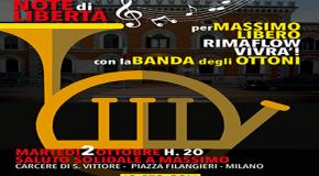 Martedì 2 ottobre H. 20 – saluto solidale a Massimo davanti al carcere di S. Vittore