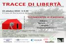 """""""TRACCE DI LIBERTà"""" un progetto tra lavoro, impegno civile e dignità."""
