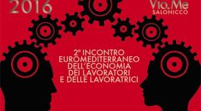2° incontro euromediterraneo dei lavoratori e delle lavoratrici