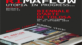RIMAFLOW ALLA BIENNALE D'ARTE DI TOLOSA