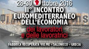 PROGRAMMA DEL II° INCONTRO EUROMEDITERRANEO DELL'ECONOMIA DEI LAVORATORI E DELLE LAVORATRICI