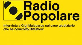 Radio popolare intervista Gigi Malabarba