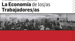 DAL 30 AGOSTO al 2 SETTEMBRE, IN ARGENTINA, L'ECONOMIA DEI LAVORATORI E DELLE LAVORATRICI